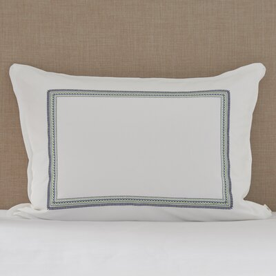 Santa Monica Embroidered Sham Size: Standard