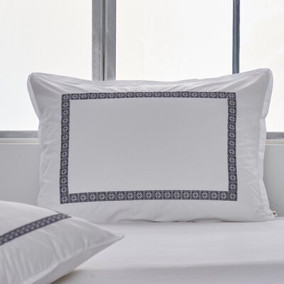 Soho Embroidered Sham Size: Standard