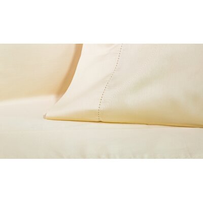 4 Piece 425 Thread Count Egyptian-Quality Cotton Sheet Set Size: Queen, Color: Ivory