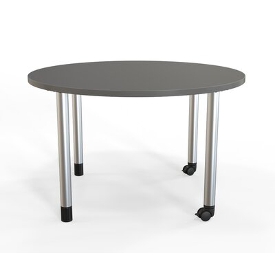 Panther Training Table with Wheels Tabletop Finish: Slate Gray, Size: 29 H X 42 W X 42 D