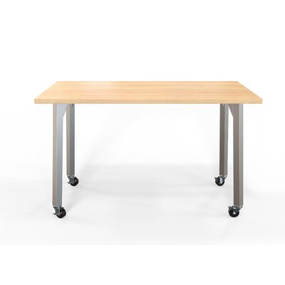 Maker Training Table with Wheels Size: 36 H X 60 W X 36 D