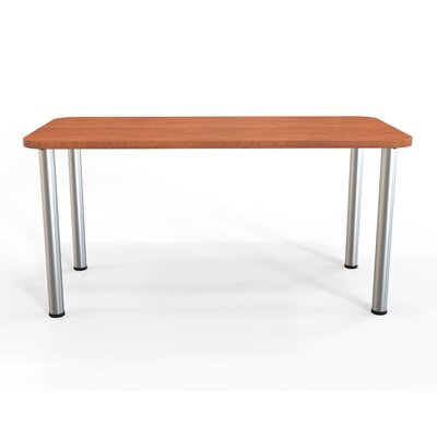 Panther Training Table Size: 29 H X 60 W X 30 D, Tabletop Finish: Amber Cherry