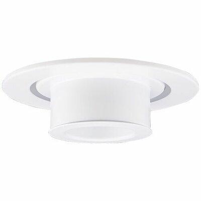 Adjustable Spot 4 LED Recessed Trim Trim Finish: White