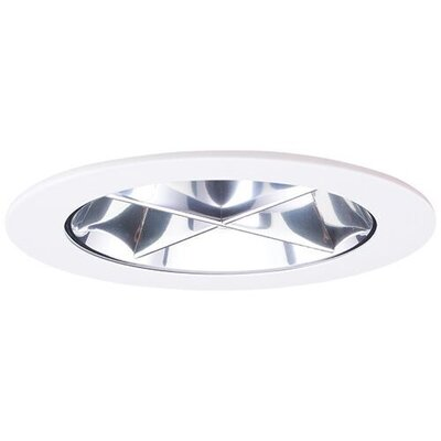Cross Blade Reflector 4 LED Recessed Trim