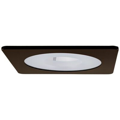 Square Pinhole 4 LED Recessed Trim Trim Finish: Bronze