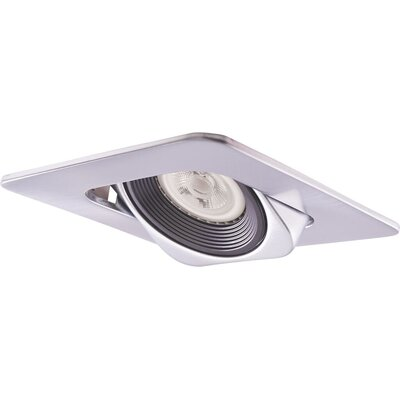 Low Voltage Square 4 Recessed Trim Trim Finish: Nickel