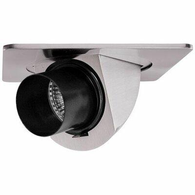 Adjustable Pull Down Snoot 4 LED Recessed Trim Trim Finish: Nickel