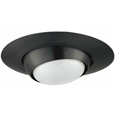 Eyeball 6 Recessed Trim Trim Finish: Black/White