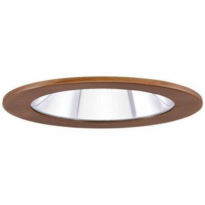 Adjustable Showers Clear Lens 4 LED Recessed Trim Trim Finish: Copper
