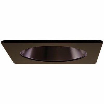 Square Specular Reflector 4 LED Recessed Trim Trim Finish: Bronze