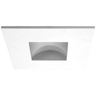 Square Adjustable Reflector 3 LED Recessed Trim Trim Finish: White