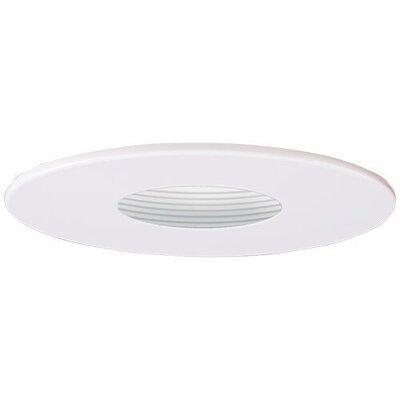 Adjustable Pinhole 4 LED Recessed Trim Trim Finish: White