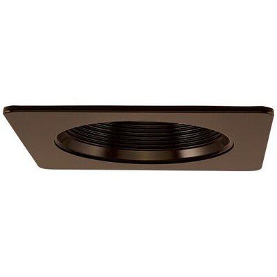Square Phenolic Baffle 4 LED Recessed Trim Trim Finish: Bronze