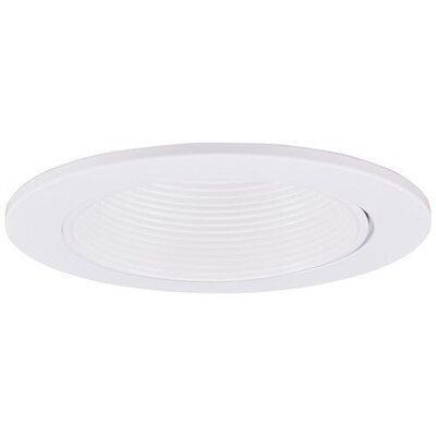 Adjustable Baffle Wall Wash 3 LED Recessed Trim Trim Finish: White