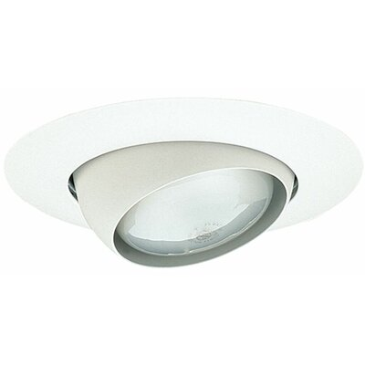Eyeball 6 Recessed Trim Trim Finish: White