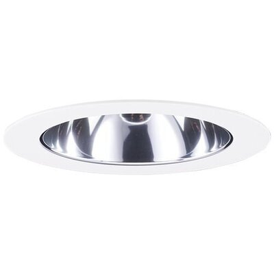 Adjustable Wall Washs 4 LED Recessed Trim Trim Finish: Chrome