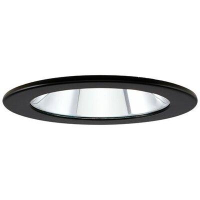 Adjustable Showers Clear Lens 4 LED Recessed Trim Trim Finish: Black