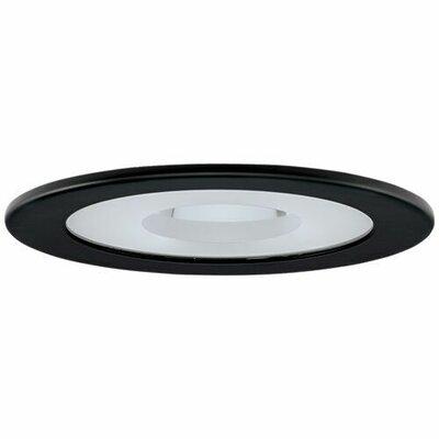 Adjustable Shower 4 LED Recessed Trim Trim Finish: Black