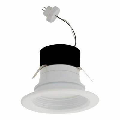 Round Bi-Pin Insert Baffle 4 LED Recessed Retrofit Downlight