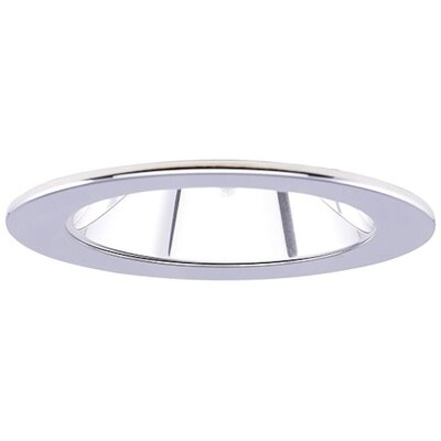 Low Voltage Adjustable Reflector 4 Recessed Trim Finish: Clear