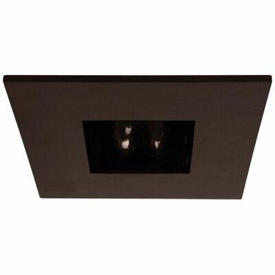 Square Adjustable Reflector 3 LED Recessed Trim Trim Finish: Bronze