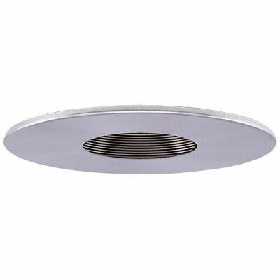 Adjustable Pinhole 4 LED Recessed Trim Trim Finish: Black/Nickel