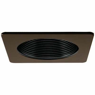 Square Phenolic Baffle 4 LED Recessed Trim Trim Finish: Bronze/Black