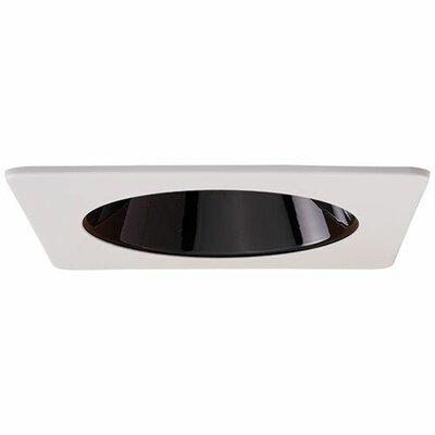 Square Specular Reflector 4 LED Recessed Trim Trim Finish: Black/White