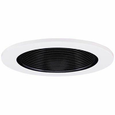 Adjustable Baffle Wall Wash 3 LED Recessed Trim Trim Finish: Black/White