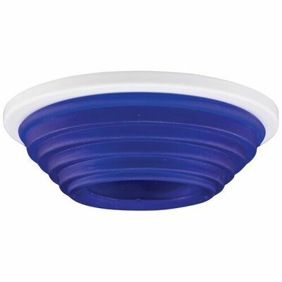Decorative LED Recessed Trim Trim Finish: Blue