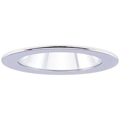 Adjustable Showers Clear Lens 4 LED Recessed Trim Trim Finish: Chrome