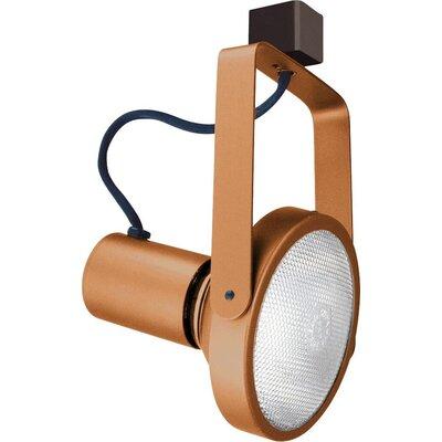 1-Light Line Voltage Gimbal Track Head Finish: Copper
