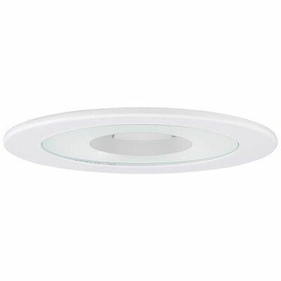 Adjustable Shower 4 LED Recessed Trim Trim Finish: White