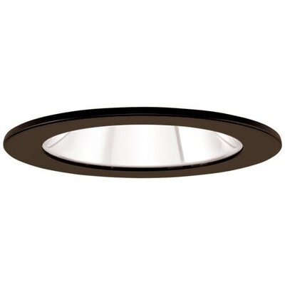 Adjustable Showers Clear Lens 4 LED Recessed Trim Trim Finish: Bronze