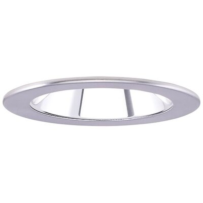 Low Voltage Adjustable Reflector 4 Recessed Trim Finish: Clear/Nickel
