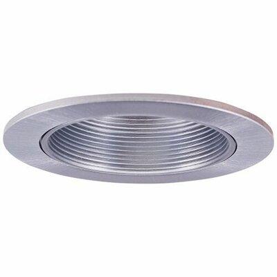 Adjustable Baffle Wall Wash 3 LED Recessed Trim Trim Finish: Nickel