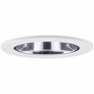 Adjustable Reflector Wall Wash 3 LED Recessed Trim Trim Finish: Chrome/White