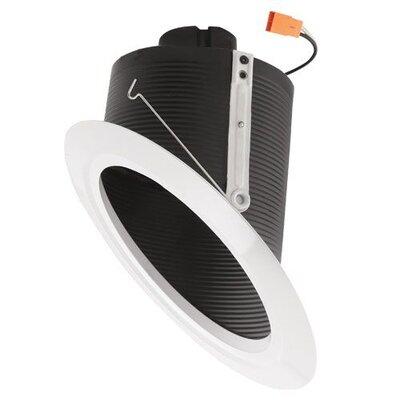 Super Sloped Ceiling Baffle Inserts 6 LED Recessed Trim Finish: Black
