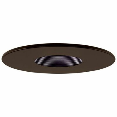 Adjustable Pinhole 4 LED Recessed Trim Trim Finish: Bronze