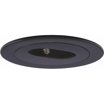 Low Voltage Slot Aperture 4 Recessed Trim Finish: Black