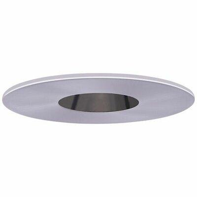 Adjustable Reflector Pinhole 4 LED Recessed Trim Trim Finish: Nickel/Black