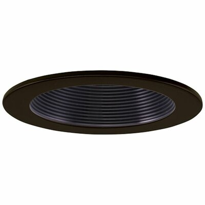 Low Voltage Baffle 4 Recessed Trim Finish: Black/Bronze