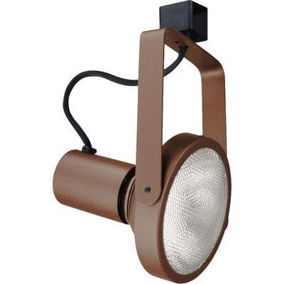 1-Light Line Voltage Gimbal Track Head Finish: Bronze