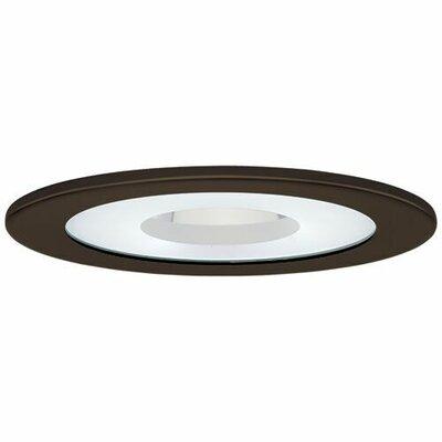 Adjustable Shower 4 LED Recessed Trim Trim Finish: Bronze
