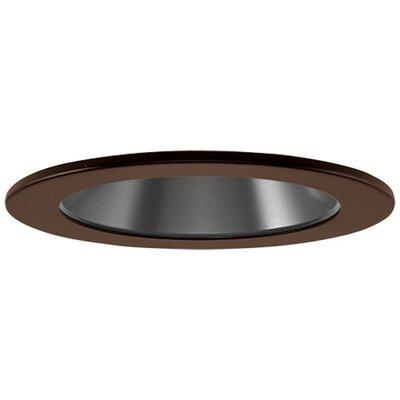 Low Voltage Adjustable Reflector 4 Recessed Trim Finish: Bronze