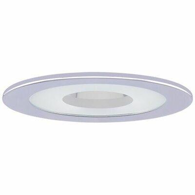 Adjustable Shower 4 LED Recessed Trim Trim Finish: Chrome