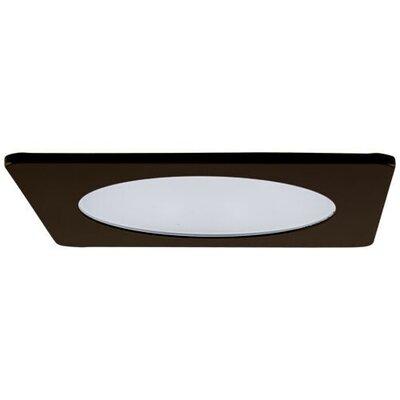 Adjustable Shower Frosted Lens 4 LED Recessed Trim Trim Finish: Bronze