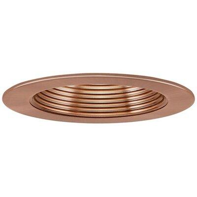 Low Voltage Baffle 4 Recessed Trim Finish: Copper