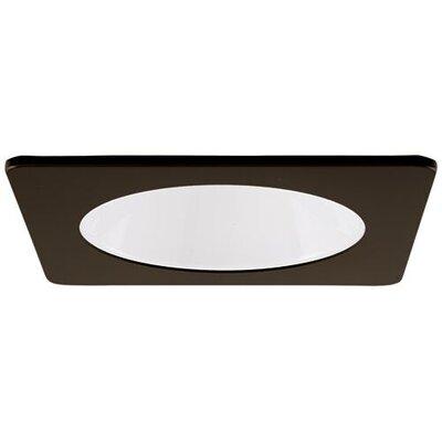 Square Specular Reflector 4 LED Recessed Trim Trim Finish: Bronze/White