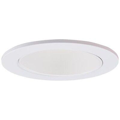Adjustable Reflector Wall Wash 3 LED Recessed Trim Trim Finish: White